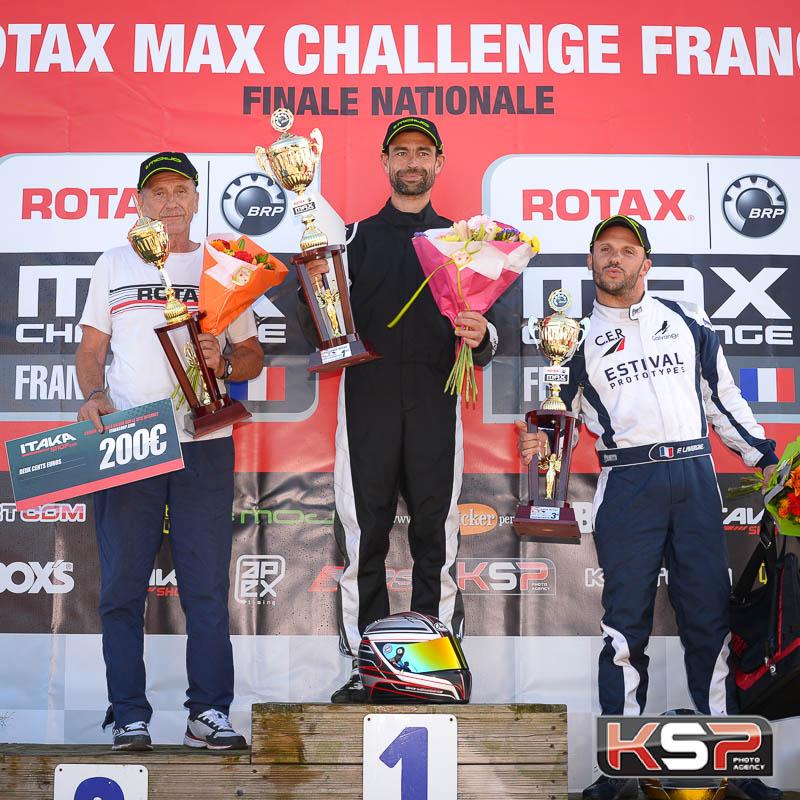 Rotax Max Master, grande victoire pour Le Moine