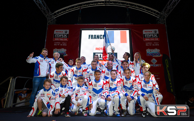 Team France Sarno : lundi, premiers roulages