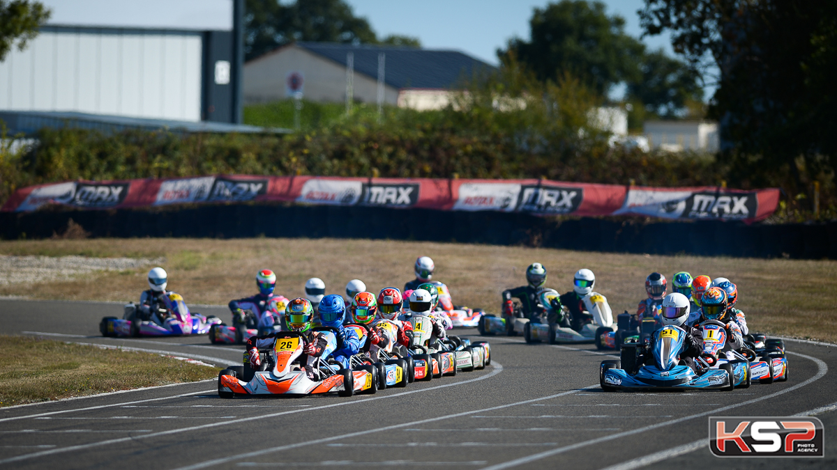 Coupe de France Rotax Max : Fourquemin en tête des manches à Laval