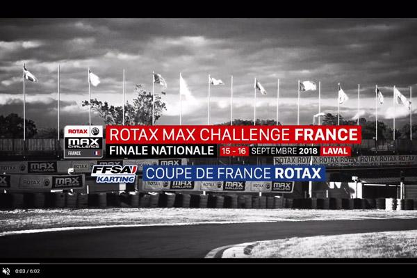 VIDÉO : Coupe de France & Challenge ROTAX France 2018