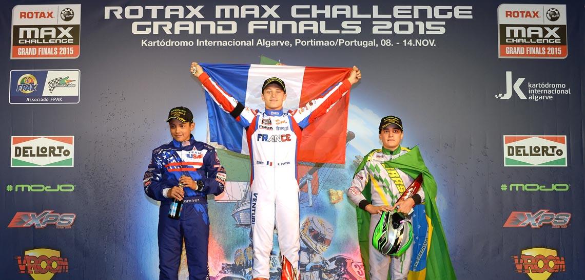 Florian Venturi : Vainqueur Junior Max